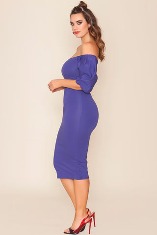 Zeinab Dress - Prettiest Purple
