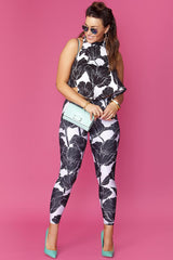 Cherie Leggings- Black Orchid