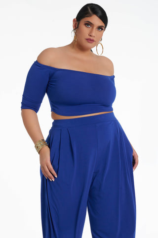 Jamie Top - Cobalt