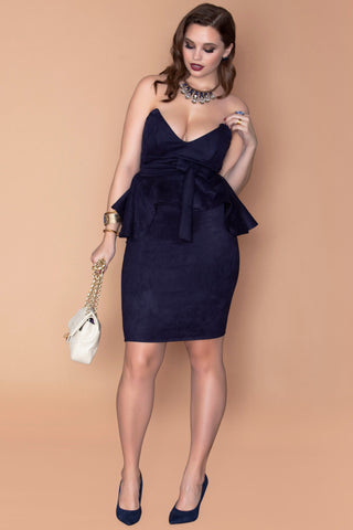 Mary-Ann Dress - Navy