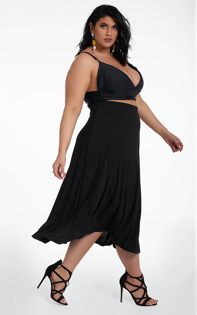 Ortiz Circle Skirt - Black