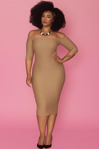 Pierre Dress- Sable