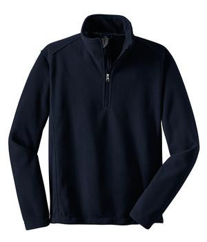 Mens 13.8 oz Fleece Half-Zip Jacket