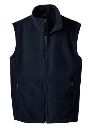 Mens 13.8 oz Fleece Vest