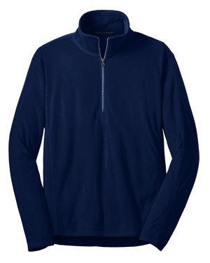 Mens Microfleece Half-Zip Jacket