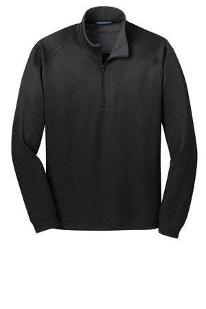 Mens Vertical Texture Half-Zip