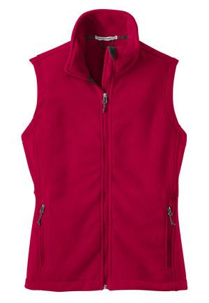 Ladies 13.8 oz Fleece Vest