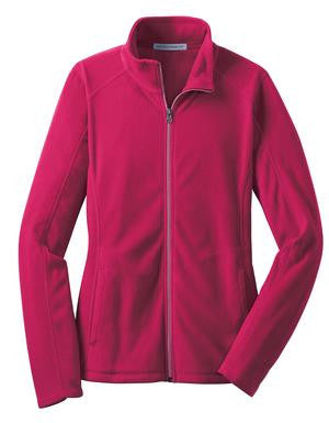 Ladies Microfleece Full-Zip Jacket