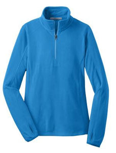 Ladies Microfleece Half-Zip Jacket