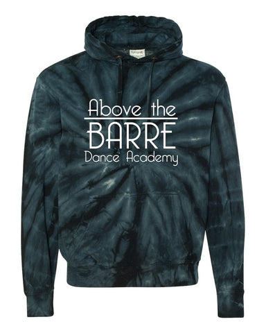 Above The Barre Tie-Dye Hoodie