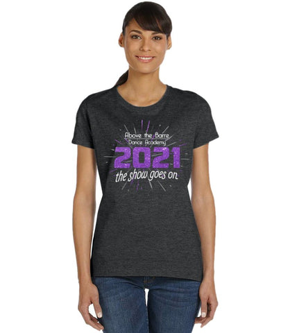 2021 Showcase Concert Tee - Above The Barre
