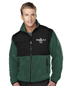 T151 Fleece/Nylon Jacket (Mens)