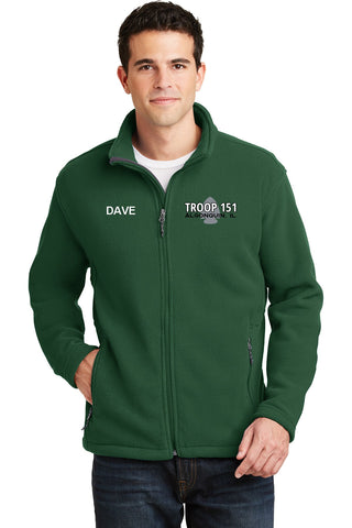 T151 Fleece Full-Zip Jacket (Mens, Womens, Childrens)