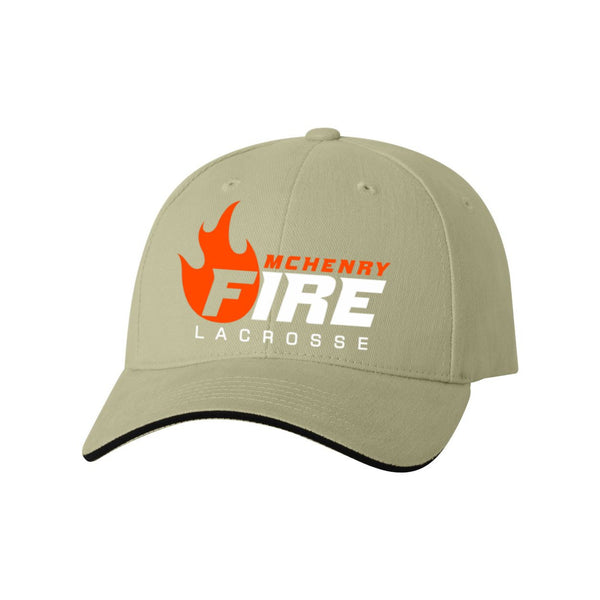 Twill Baseball Cap (McHenry Fire Lacrosse)