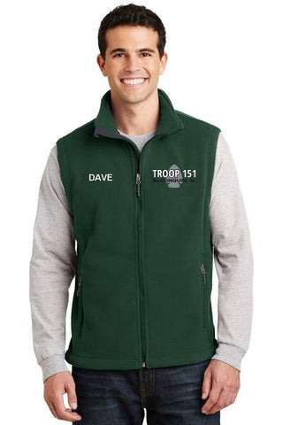 T151 Fleece Vest (Mens, Womens)