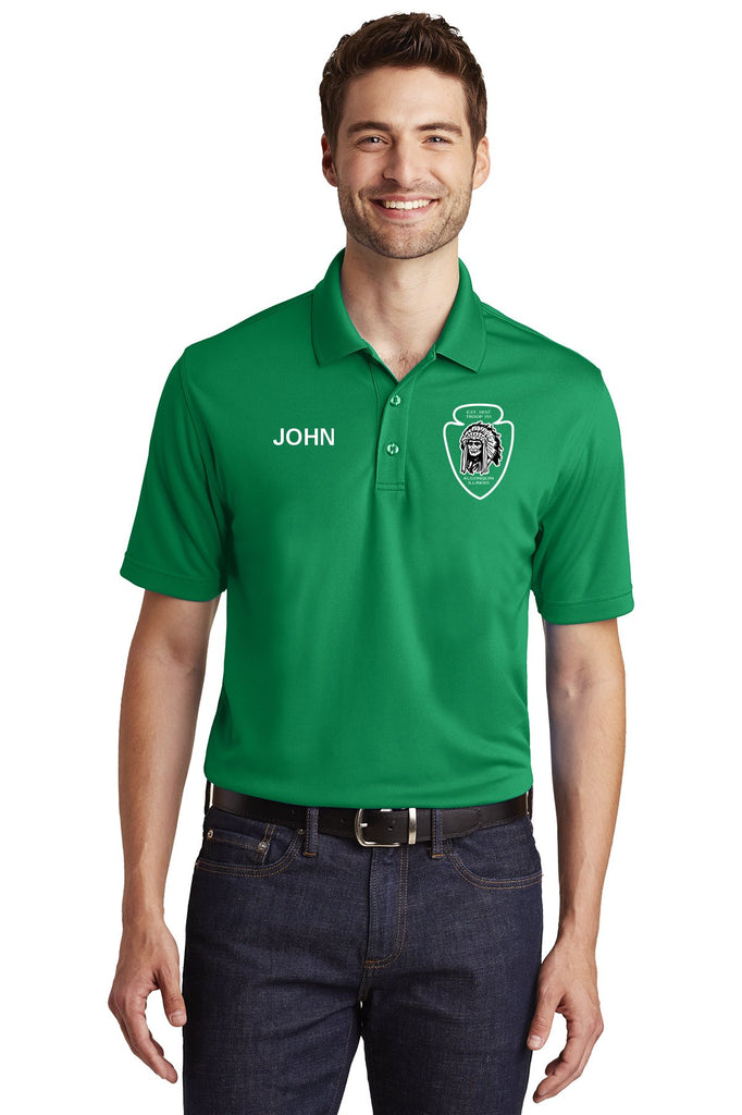 T151 Dry-Zone Polo-Style T-Shirt