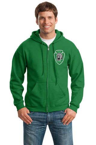 T151 Full-Zip Hooded Sweatshirt