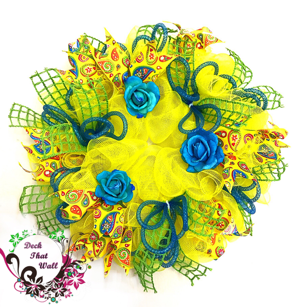 Spring/Summer Mesh Wreath