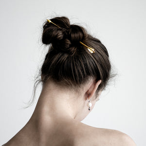 GOLD ARROW HAIRPIN