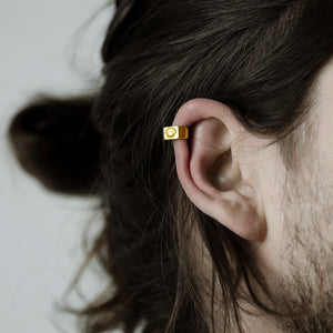 SHELL EAR CUFF - GOLD
