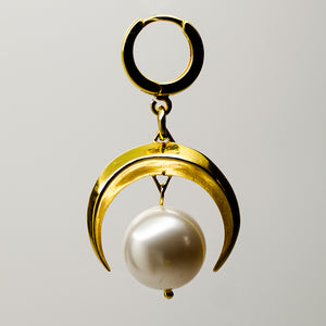 MOON EARRING - GOLD