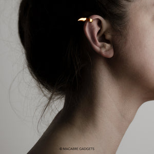 SPIKE EAR CUFF - GOLD