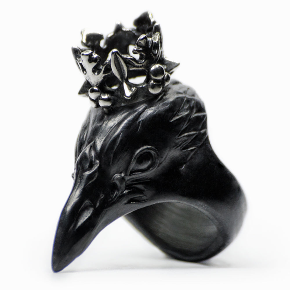 CORAX RING - BLACK