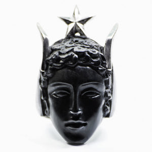 BLACK HERMES RING
