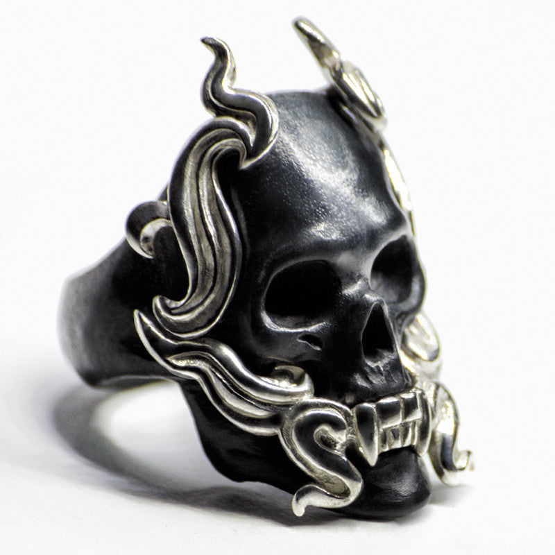 BLACK MAYLA RING