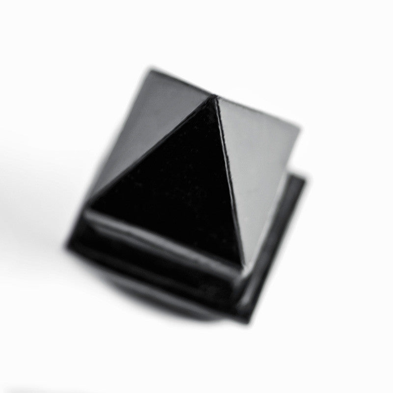 BLACK PYRAMIDE RING - only 1 left in stock