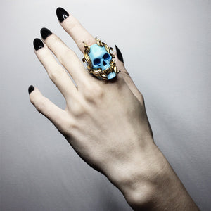 BLUE MAYLA RING