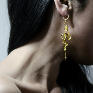 ARROW&BOW EARRING - GOLD