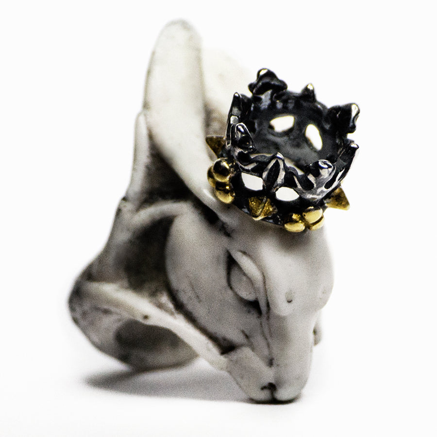 HARE RING - WHITE