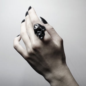 LUNA RING - BLACK