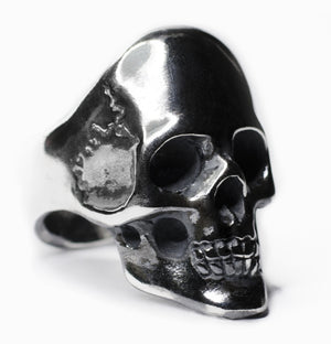 MERCURY SKULL RING