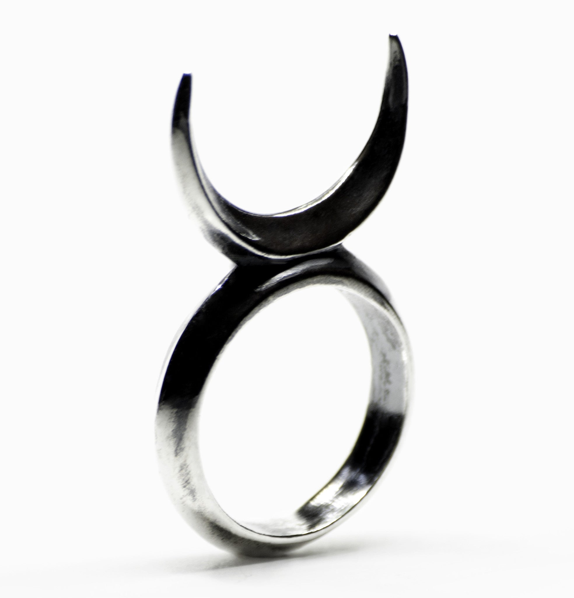 dark darkmoon collections kyoti onyx mooncycle moon ring rings
