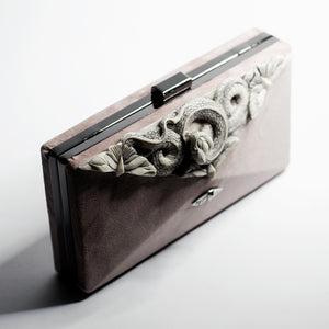 SNAKE & BUTTERFLIES CLUTCH