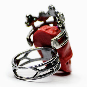 RED SOREL RING