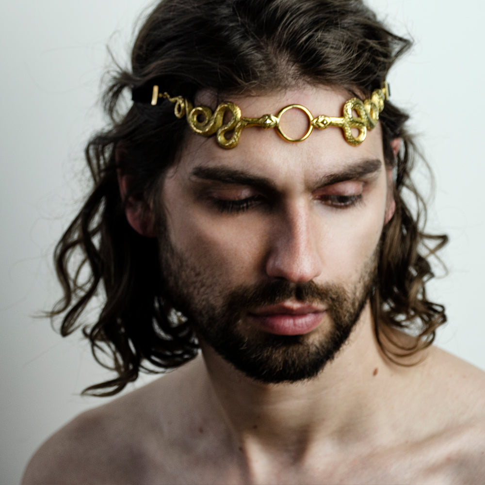 GOLD SNAKES CROWN