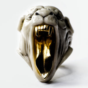 WHITE PANTHER RING