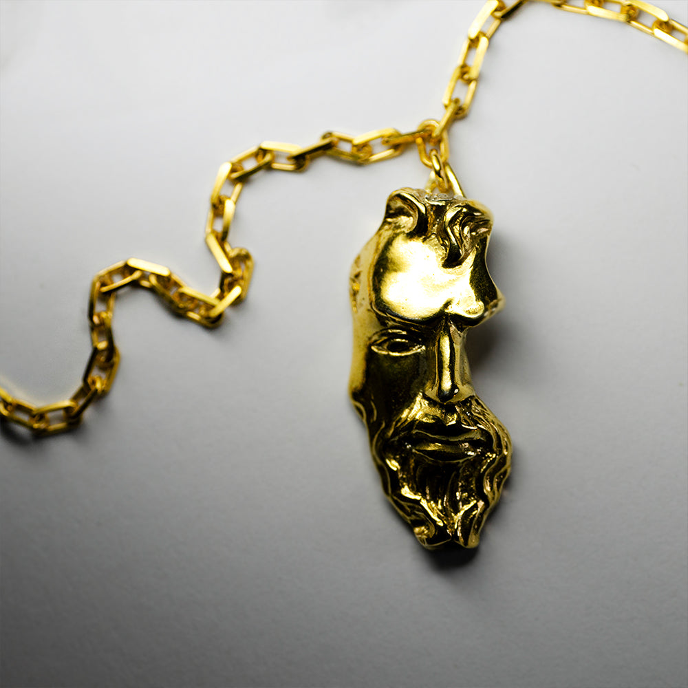 GOLD  FRAGMENT PENDANT
