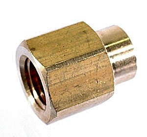 "1/4"" npt Female - 1/8"" npt Female, Brass Pipe Fitting - 1/4 NPT - Air Fittings - Palmers Pursuit Shop"