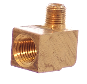 1/8  NPT Male x 1/4 NPT Female 90° Elbow, Reducing Adapter - 1/4 NPT - Air Fittings - Palmers Pursuit Shop