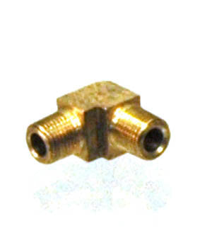 1/8 NPT Male - Male 90° Elbow, Brass - 1/8 NPT - Air Fittings - Palmers Pursuit Shop