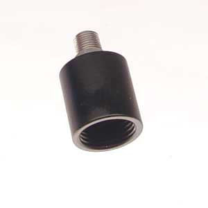 PPS Aluminum Round ASA Stainless 1/8 NPT - Air Tanks, Adapters, Stocks & Drops - Palmers Pursuit Shop - Palmers Pursuit Shop