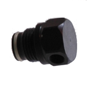90° ASA to 1/8 NPT Hose Adapter