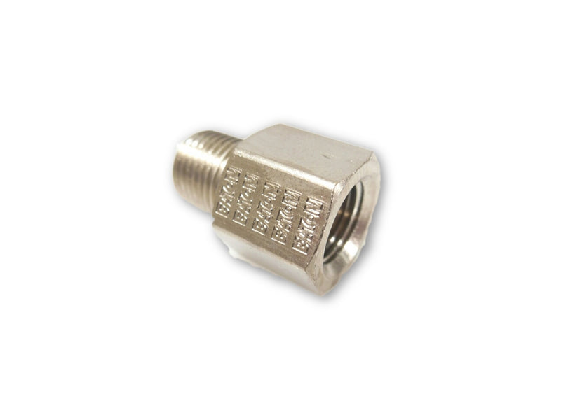 1/8 NPT Female to 1/8 NPT Male Extension - Finish:Nickel 4pcs - 1/8 NPT - Air Fittings - Palmers Pursuit Shop