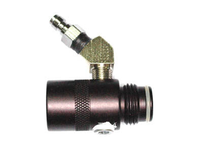 Tank Extension with back-check fill nipple - Air Tanks, Adapters, Stocks & Drops - Palmers Pursuit Shop - Palmers Pursuit Shop