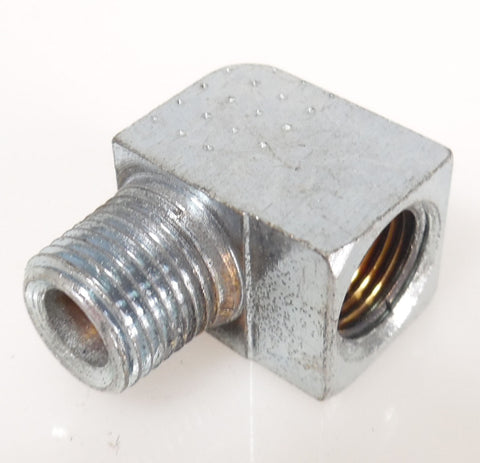 "1/8"" npt 90 degree Elbow, Zinc Plated - Air Fittings - n/a - Palmers Pursuit Shop"