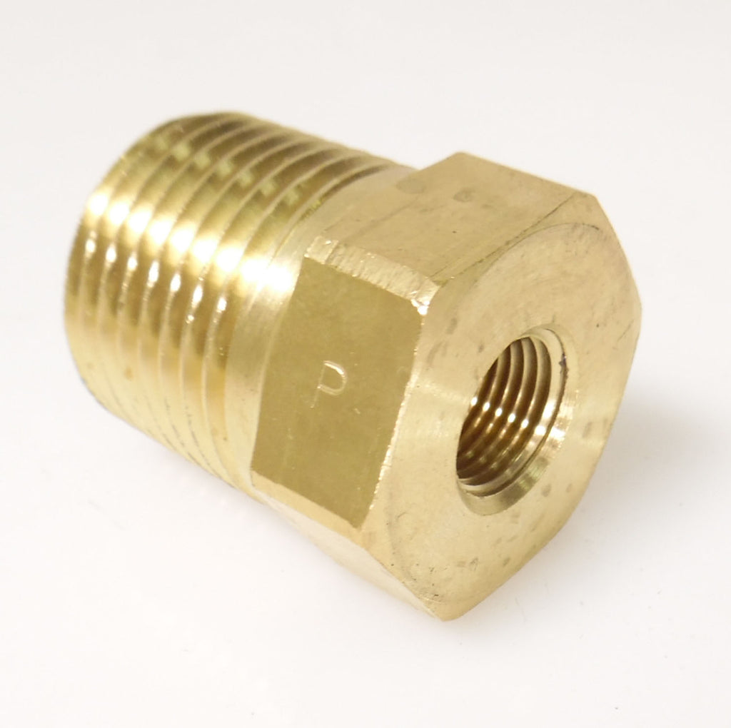 Vehicle Parts & Accessories PIPE FITTING BRASS BUSHING 1/8 FEMALE NPT X 1/2 MALE NPT